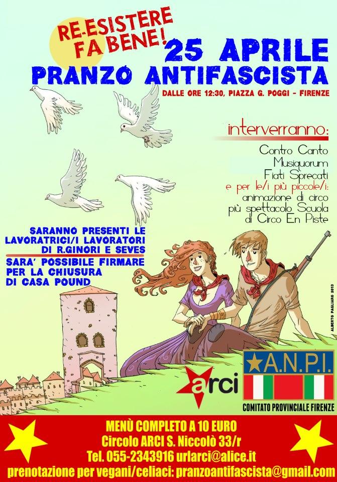 pranzo antifascista firenze 2013